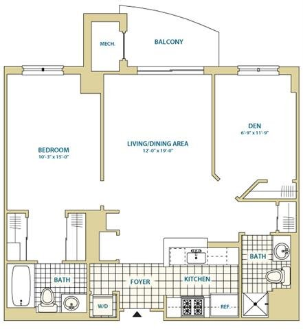 Va arlington instratapentagoncity p0247408 stylec2911sf 2 floorplan