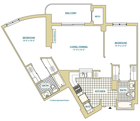 Va arlington instratapentagoncity p0247408 styled1d1a991sf 2 floorplan