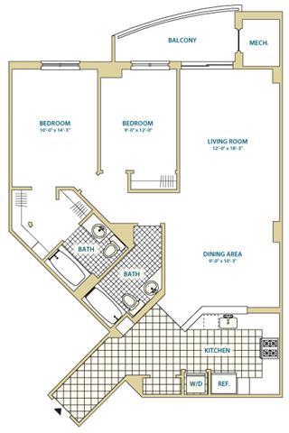 Va arlington instratapentagoncity p0247408 styled61133sf 2 floorplan