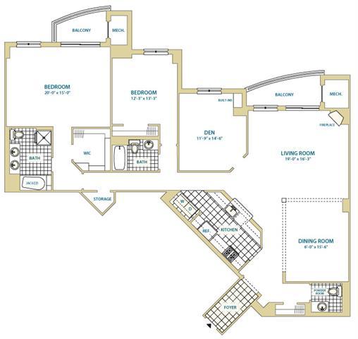 Va arlington instratapentagoncity p0247408 stylee22043sf 2 floorplan