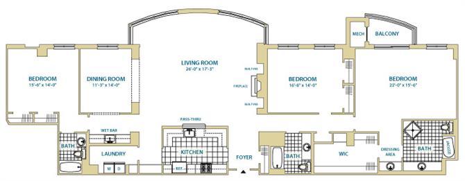 Va arlington instratapentagoncity p0247408 stylef12621sf 2 floorplan