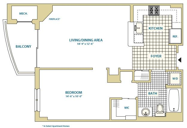 Va arlington instratapentagoncity p0247408 styleb2d739sf 2 floorplan