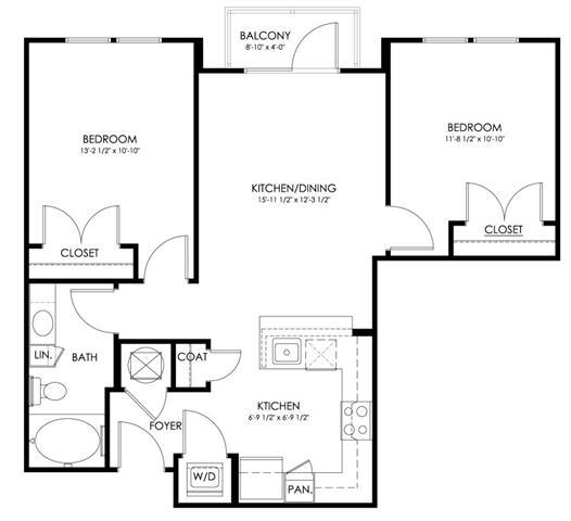 Md hyattsville paletteatartsdistrict p0247410 danube798sf 2 floorplan