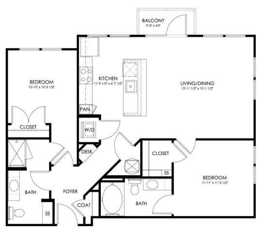 Md hyattsville paletteatartsdistrict p0247410 norwich972sf 2 floorplan