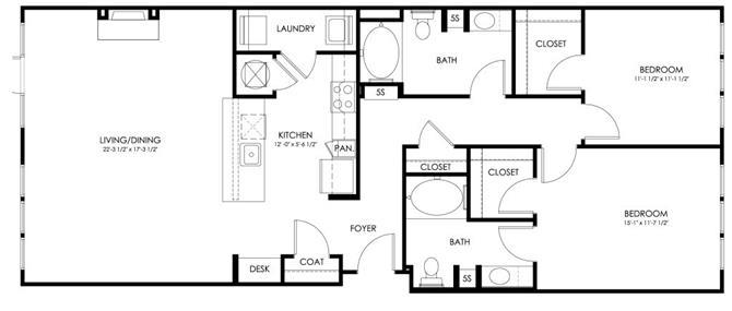 Md hyattsville paletteatartsdistrict p0247410 povera1293sf 2 floorplan