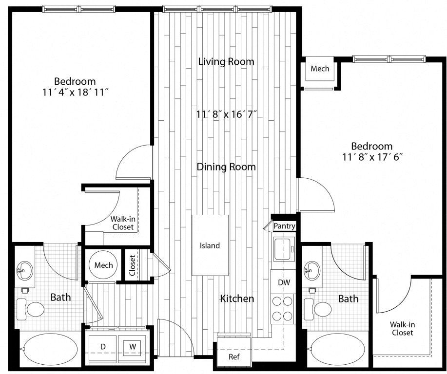 Floorplan image of 50-206