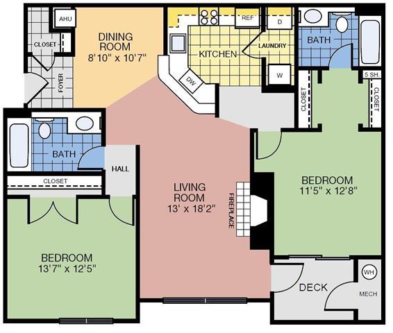Va reston theapartmentsatharborpark p0291006 2bedroom2bath1142sf 2 floorplan