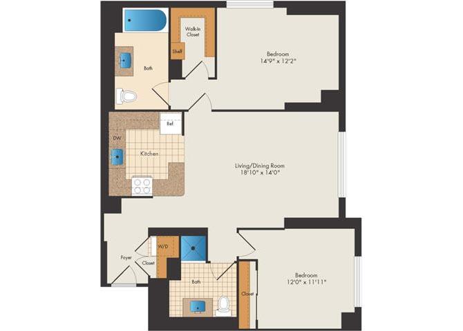 Ny whiteplains 15bankapartments p0326912 downing 2 floorplan