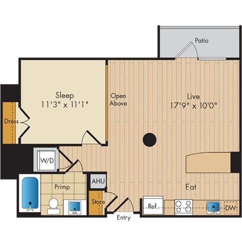 Dc washington flats130atconstitutionsquare p0336112 11657 2 floorplan
