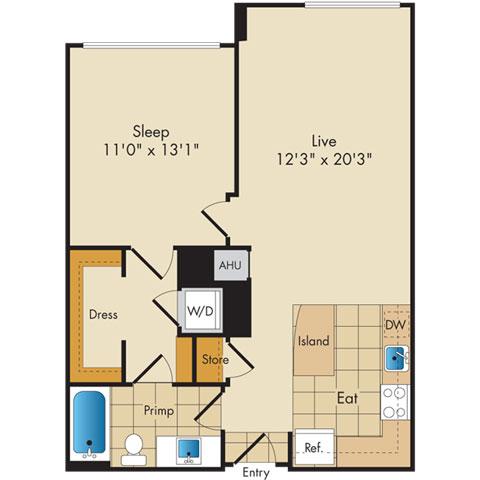 Dc washington flats130atconstitutionsquare p0336112 11752 2 floorplan