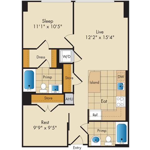 Dc washington flats130atconstitutionsquare p0336112 12809 2 floorplan