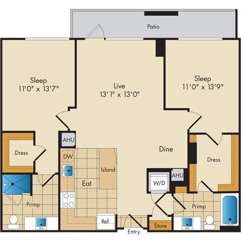 Dc washington flats130atconstitutionsquare p0336112 221067 2 floorplan