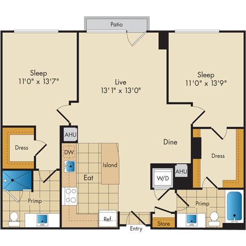 Dc washington flats130atconstitutionsquare p0336112 221069 2 floorplan