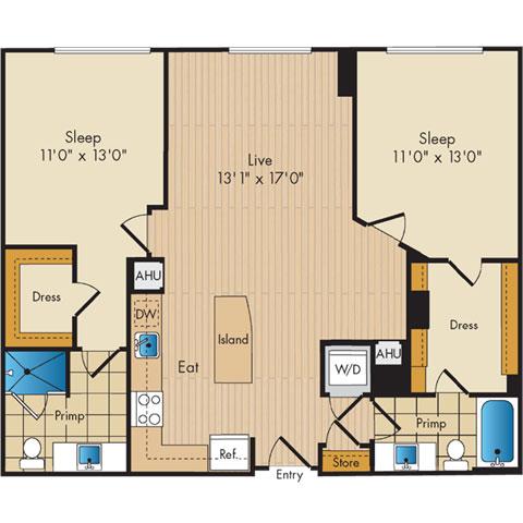 Dc washington flats130atconstitutionsquare p0336112 221105 2 floorplan
