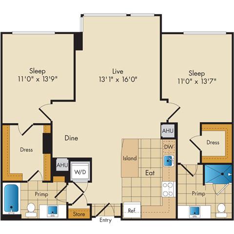 Dc washington flats130atconstitutionsquare p0336112 221112 2 floorplan