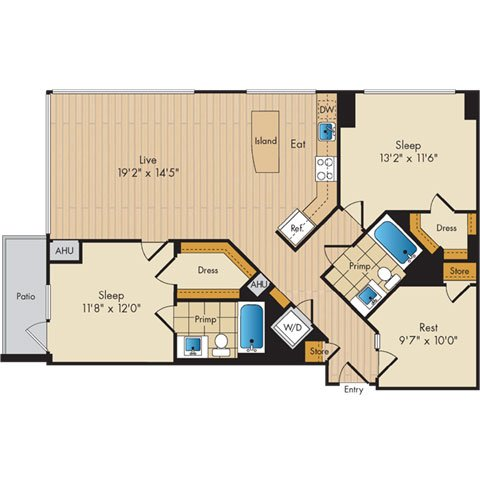 Dc washington flats130atconstitutionsquare p0336112 221203 2 floorplan