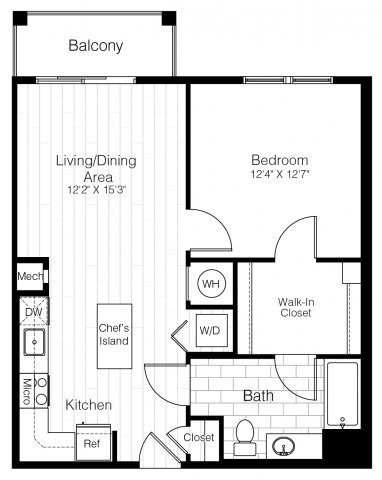 A6onebed741sf 2 floorplan