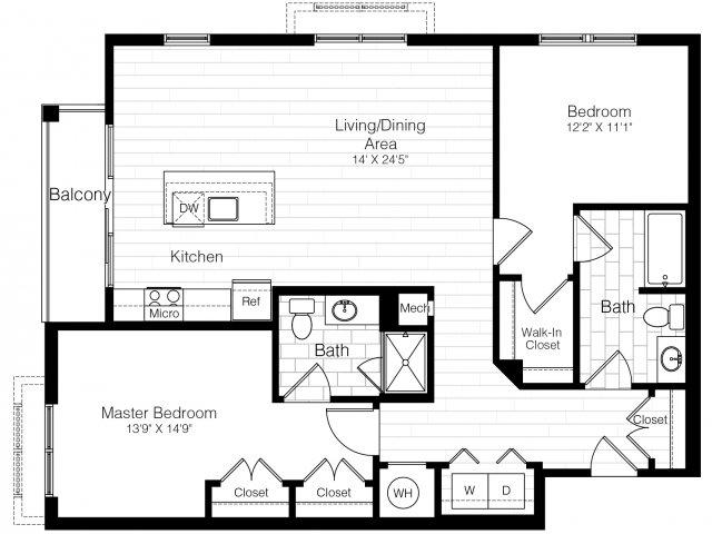 B9atwobed1243sf 2 floorplan
