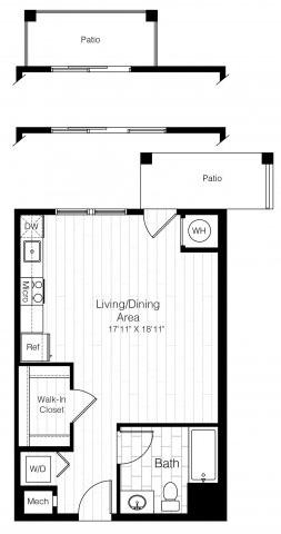 S1studio551sf 2 floorplan