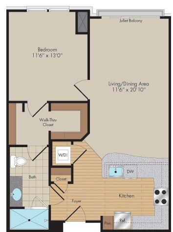 Apartment 180 floorplan