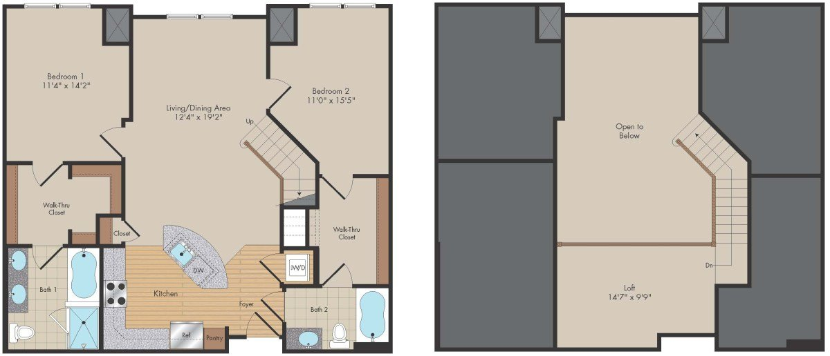 Apartment 567 floorplan