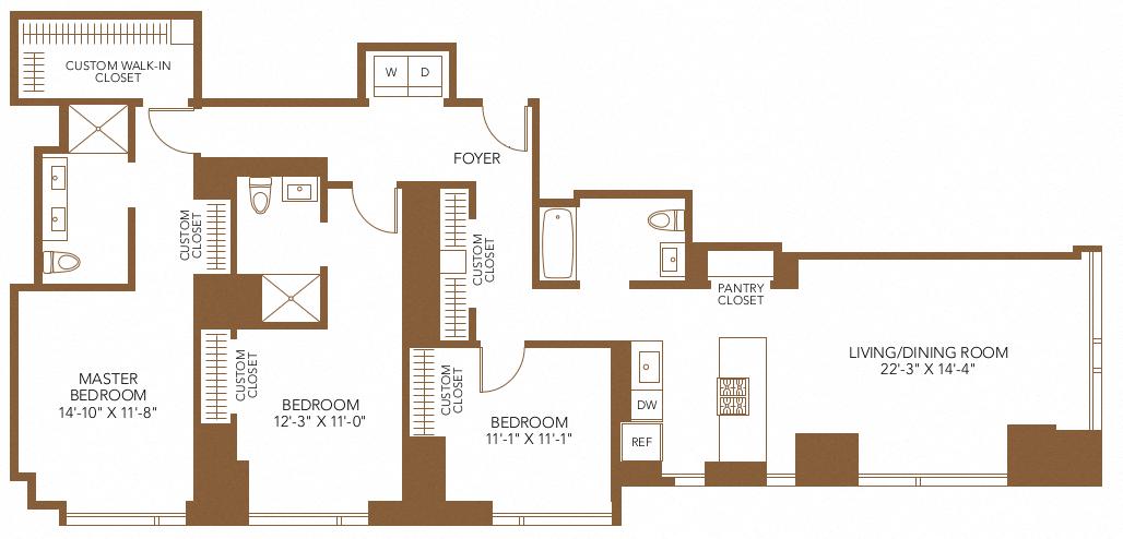 floor plan 1915