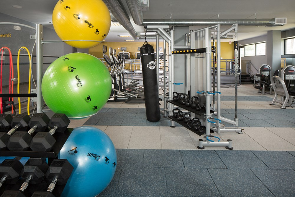 KICK, Fitness Center with on-site personal trainer available