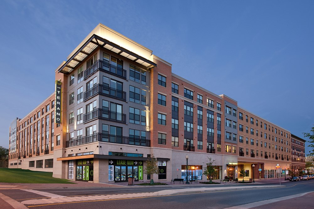The Terano apartments in Rockville
