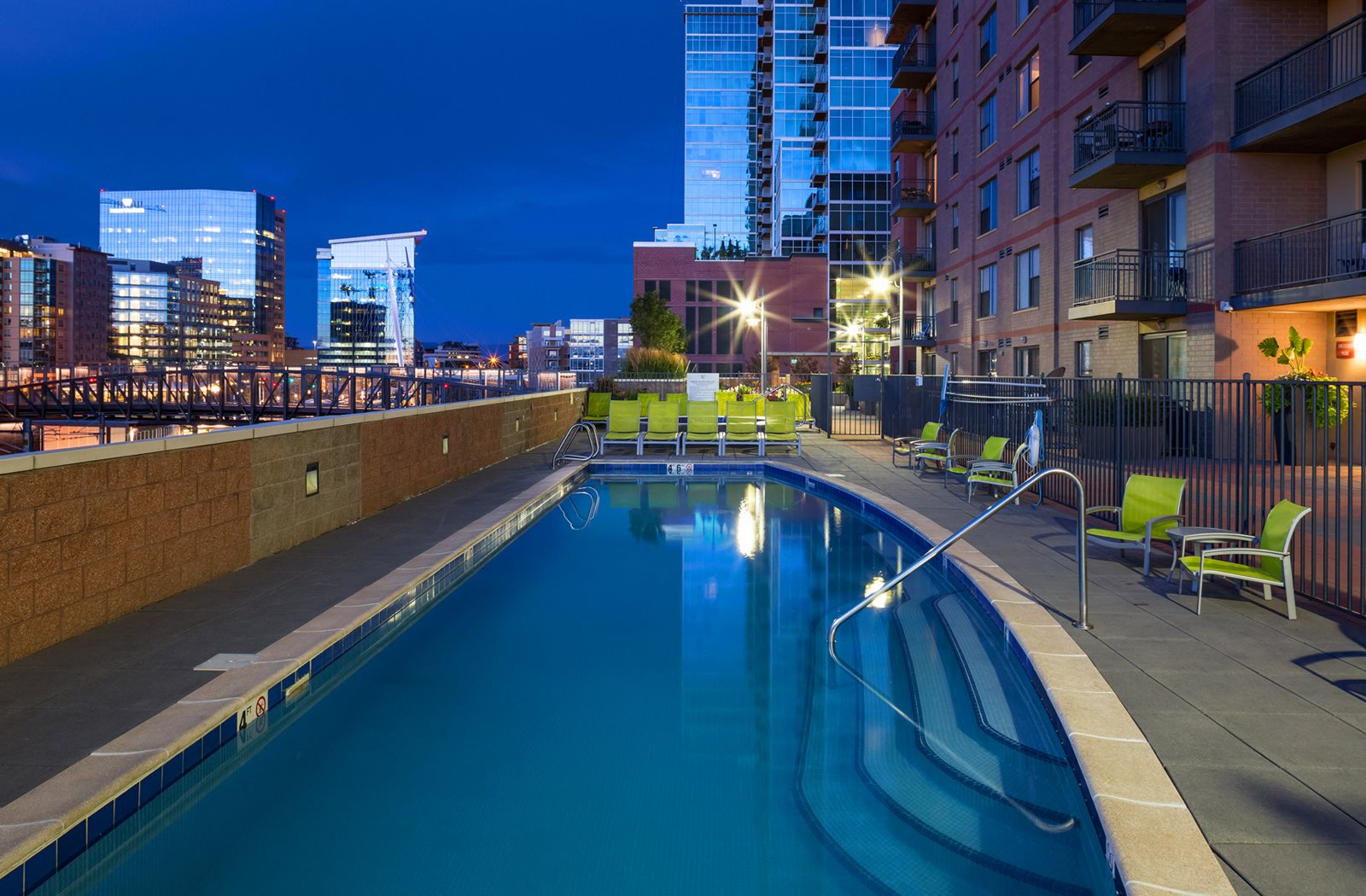Resort-Style Pool at The Manhattan Tower and Lofts,