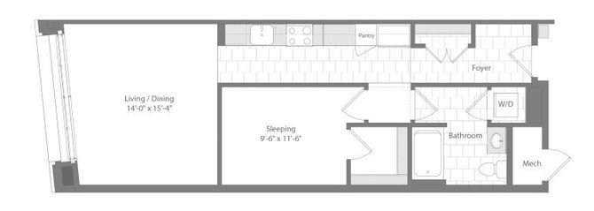 Md baltimore unionwharf p0233501 auster studio 728sf 2 floorplan