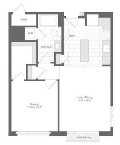 Md baltimore unionwharf p0233501 corsair 1bed 757sf 2 floorplan