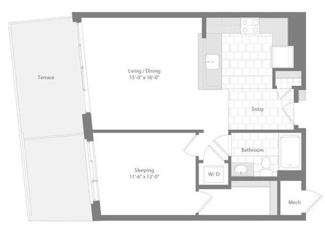 Md baltimore unionwharf p0233501 dunnage 1bed 820sf 2 floorplan
