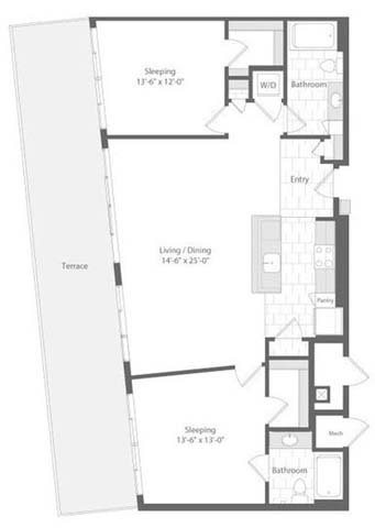 Md baltimore unionwharf p0233501 orlop 2bed 1213sf 2 floorplan