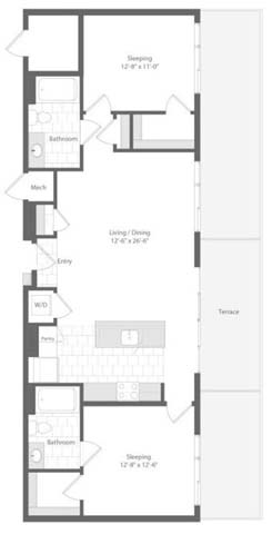 Md baltimore unionwharf p0233501 quay 2bed 1138sf 2 floorplan