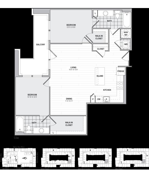 floor plans the frasier apartments the bozzuto group floor plans the frasier apartments the bozzuto group