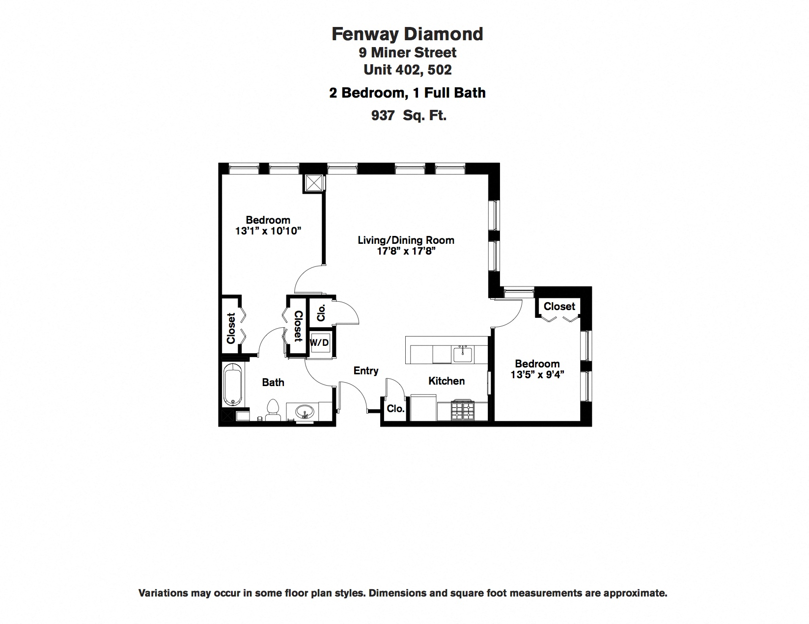 Click to view Floor plan 2 BR image 2