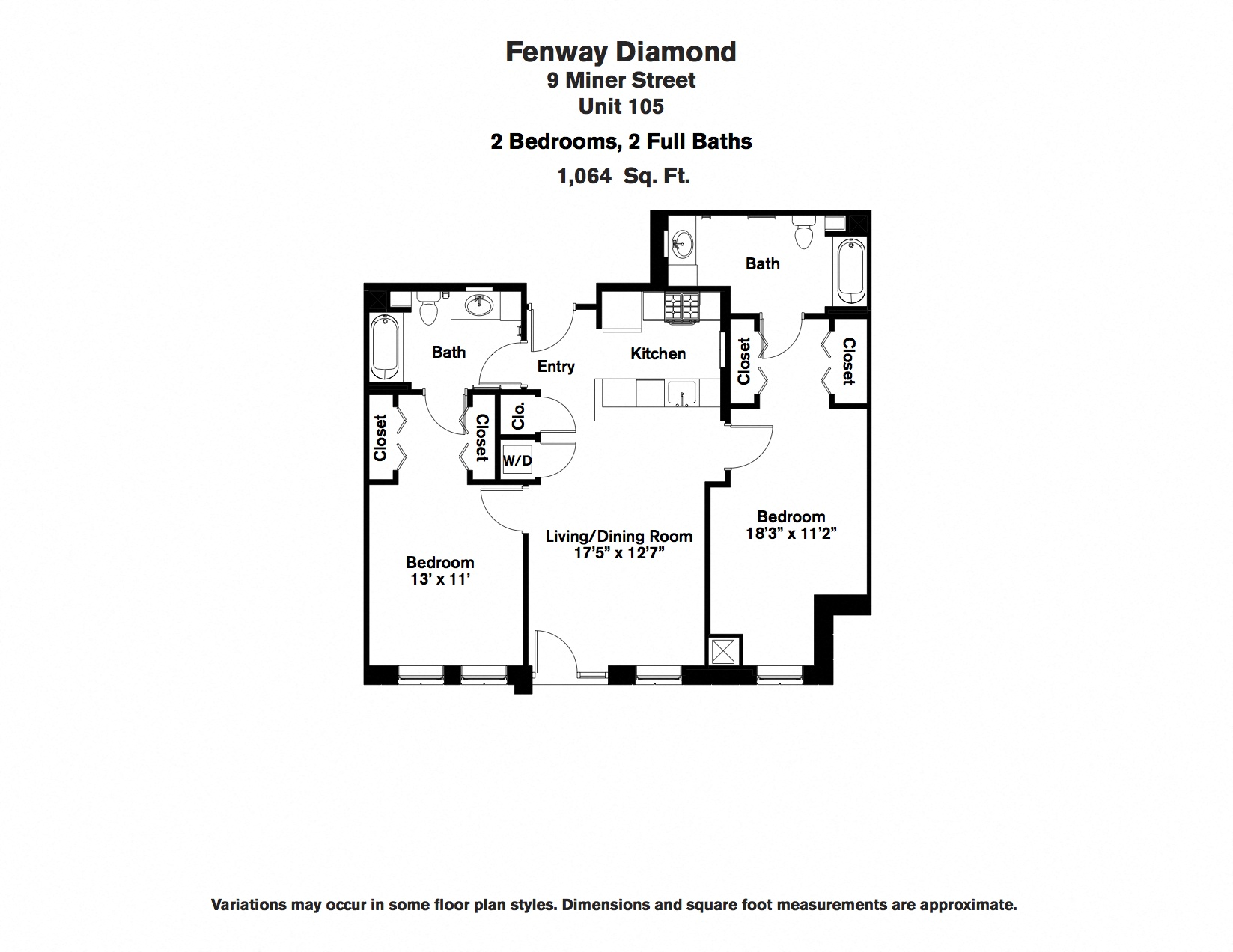 Click to view Floor plan 2 BR image 6
