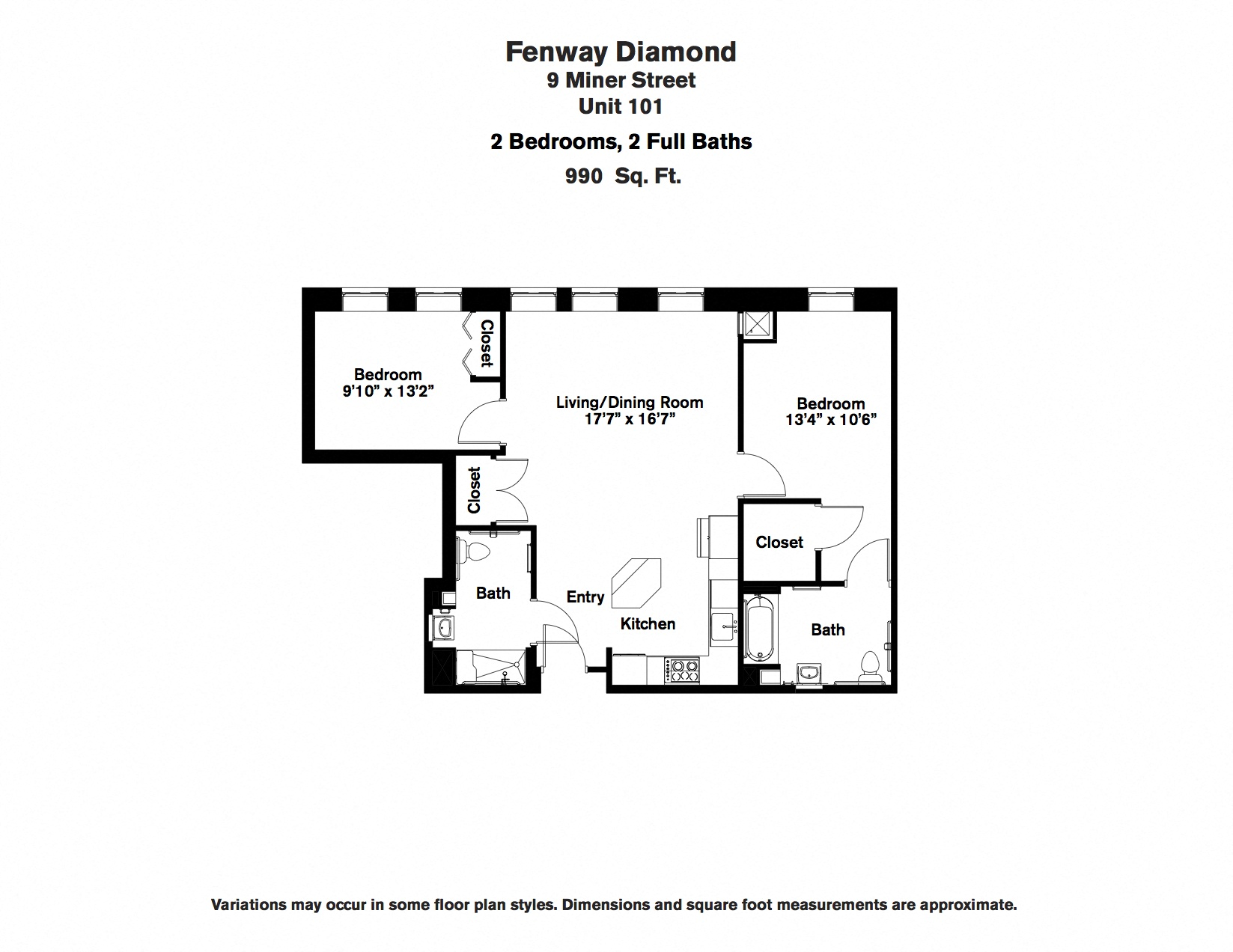 Click to view Floor plan 2 BR image 8