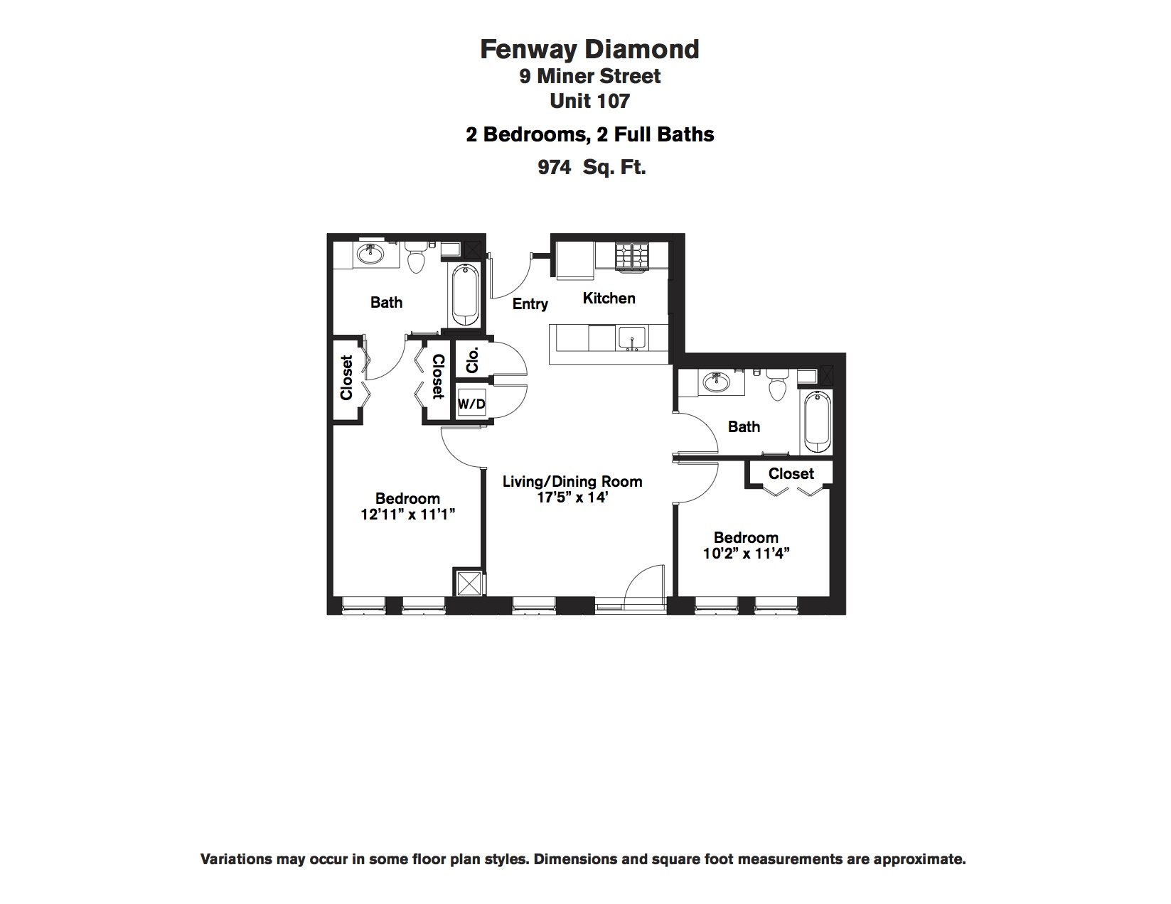 Click to view Floor plan 2 BR image 10