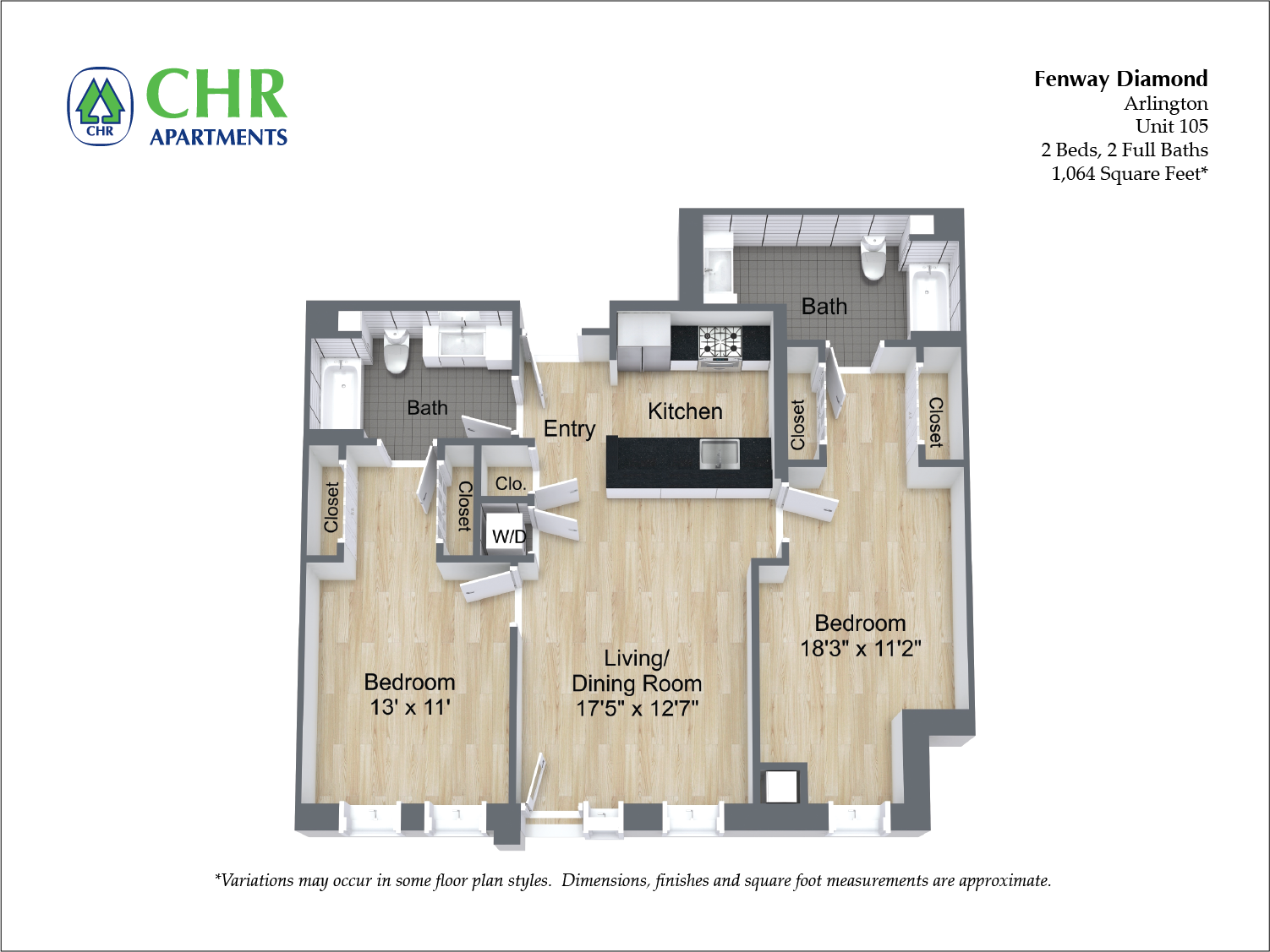 Click to view Floor plan 2 BR image 5
