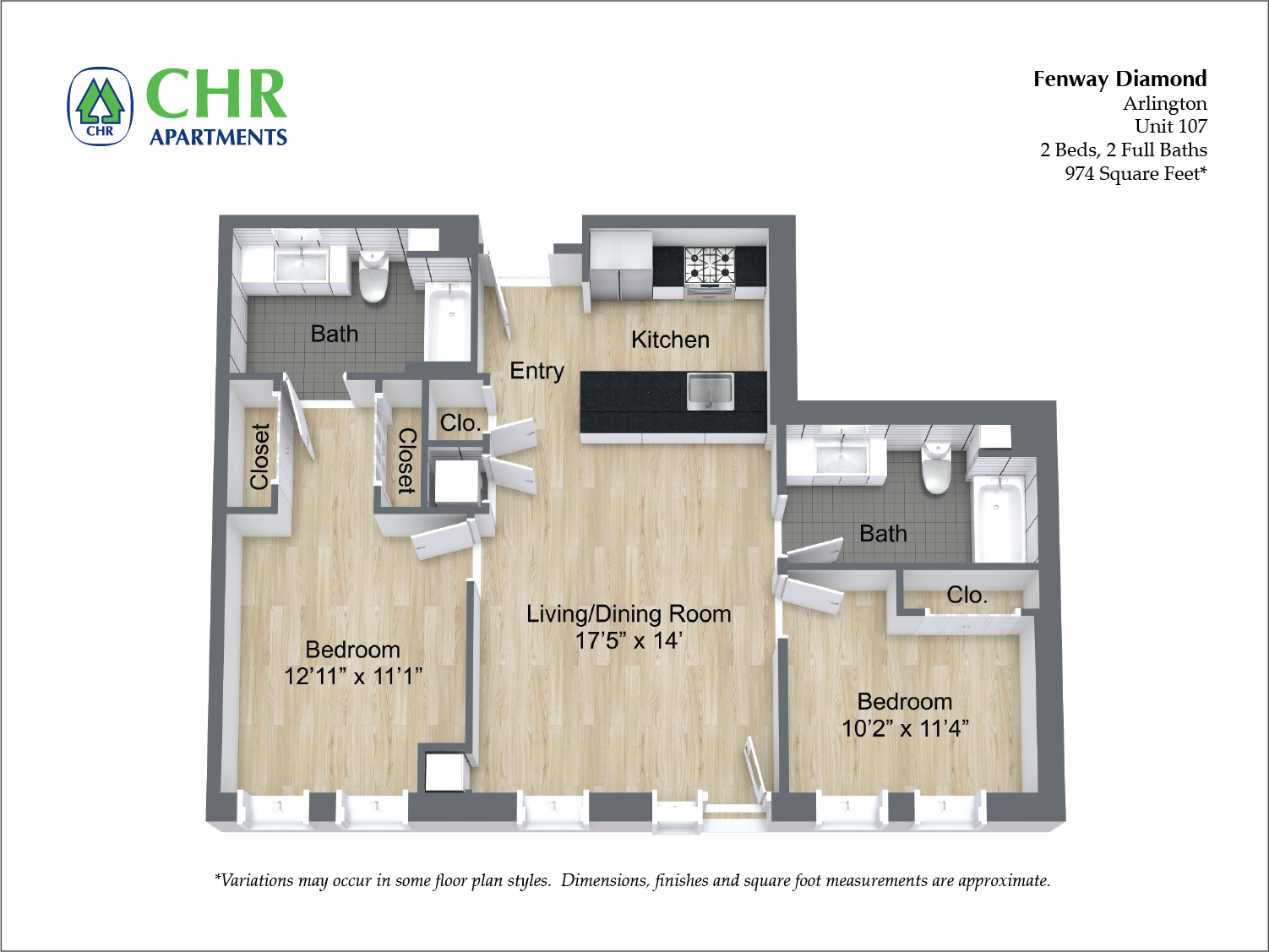 Click to view Floor plan 2 BR image 9