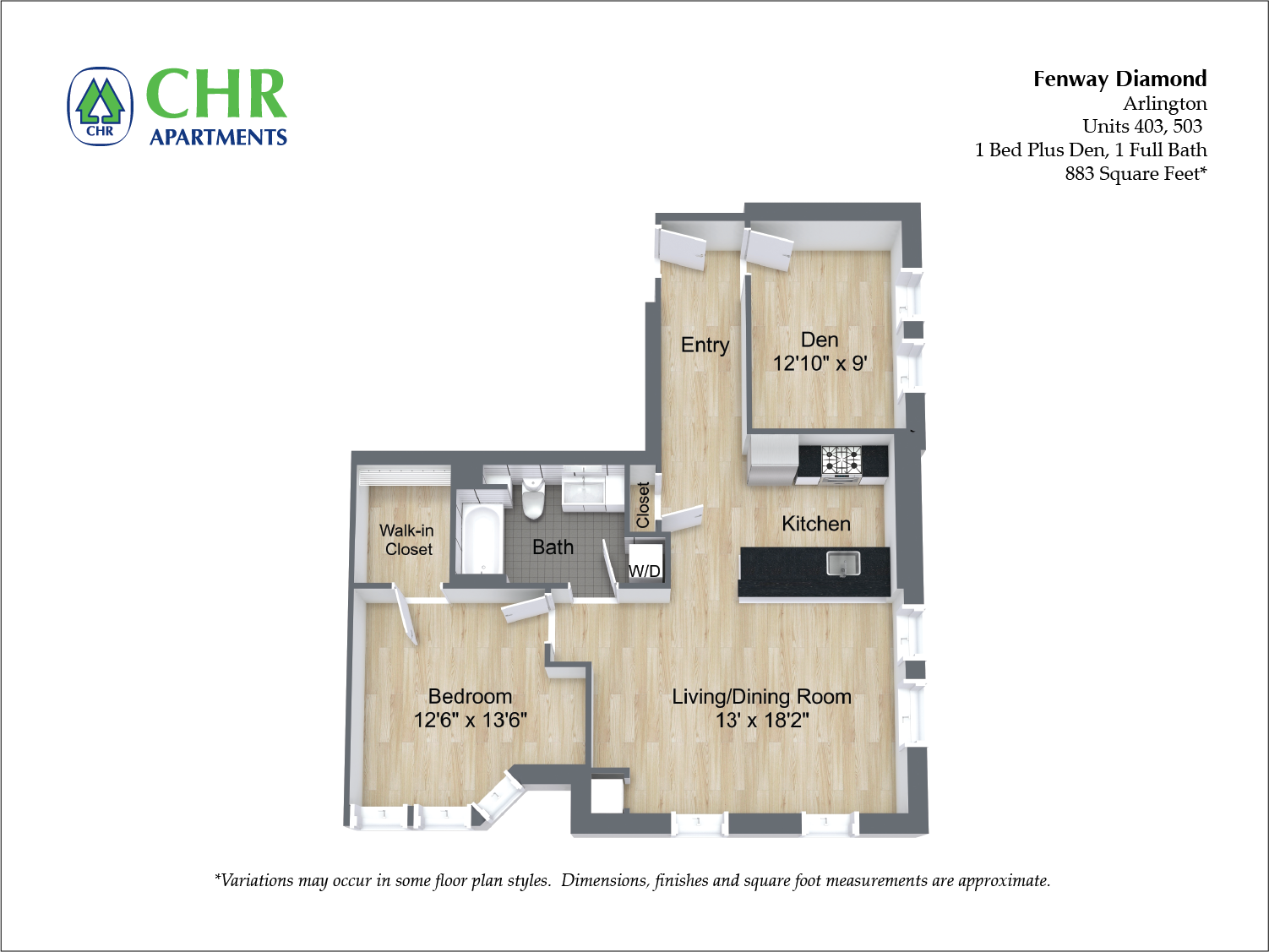 Click to view Floor plan 2 BR image 3