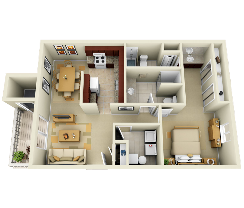 Terrific Luxury 1 2 And 3 Bedroom Apartments In Indianapolis In Download Free Architecture Designs Sospemadebymaigaardcom