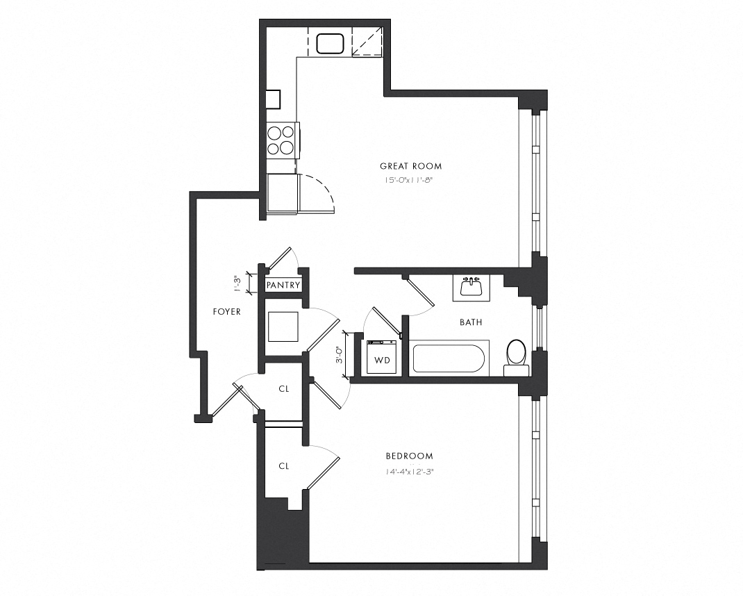 The Versailles Residence Floor Plans
