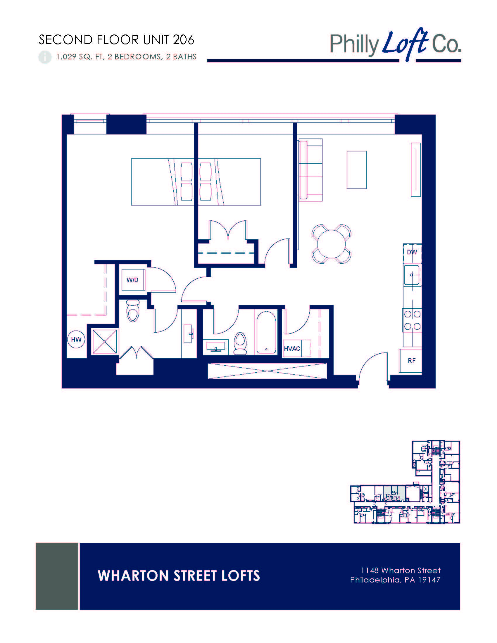 Wharton Street Lofts Floor Plans