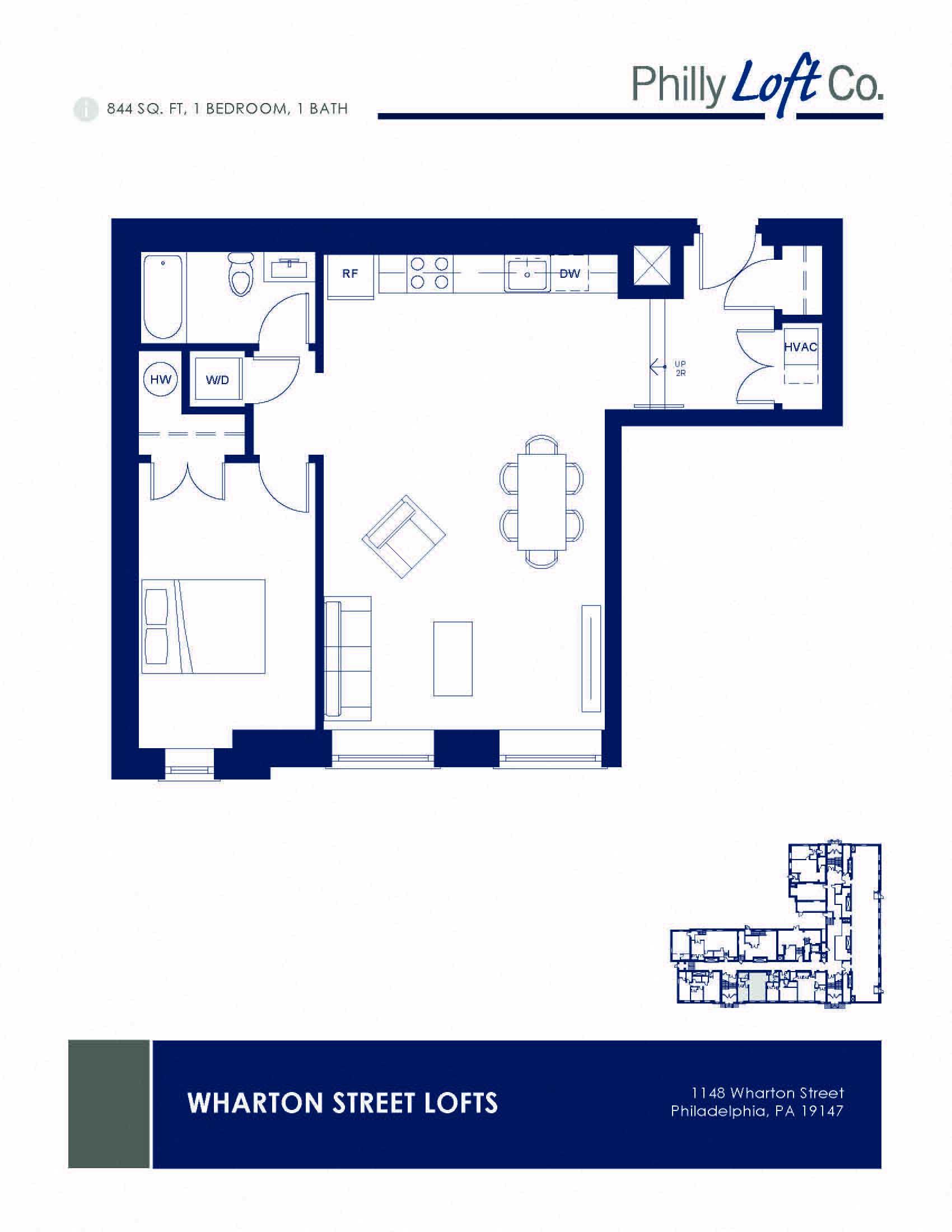Wharton Street Lofts Floor Plans