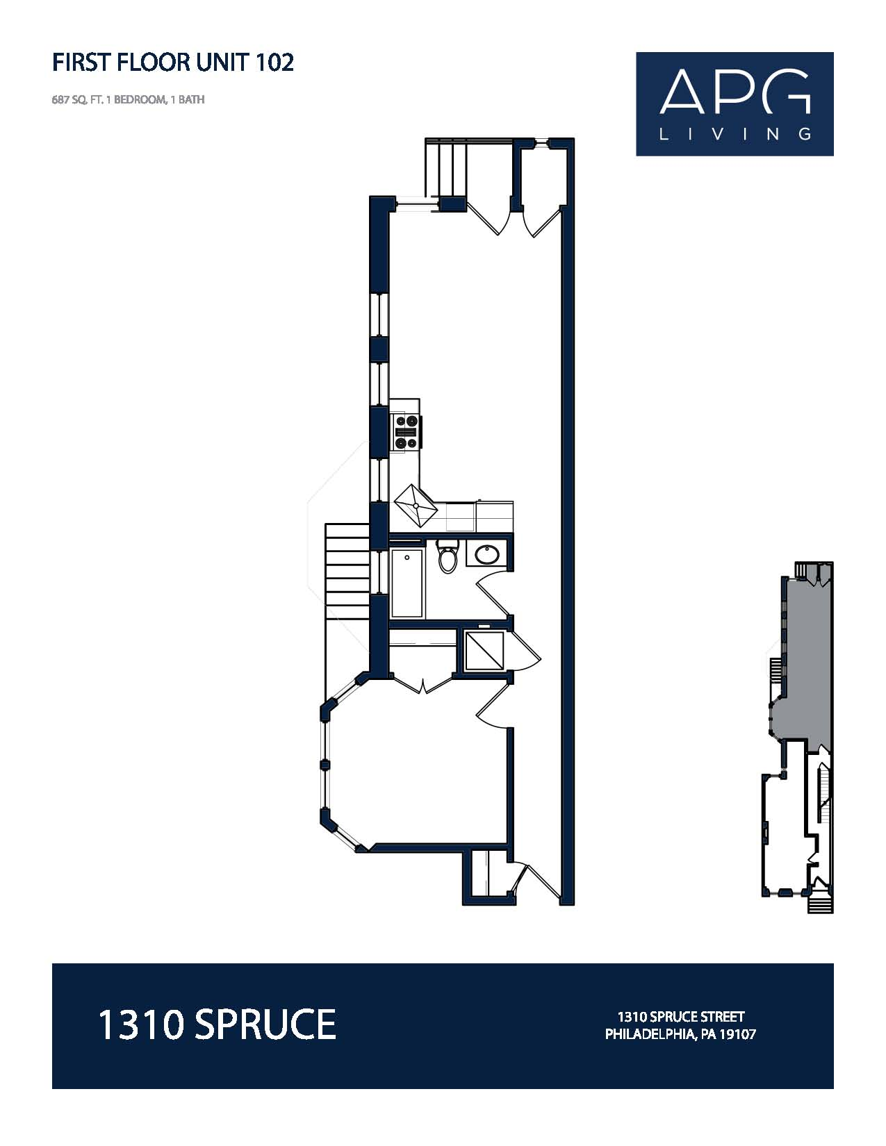 1310 Lofts Floor Plans