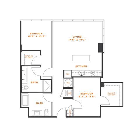 Floor Plans - Apartments in Northwest DC   Atlantic Plumbing