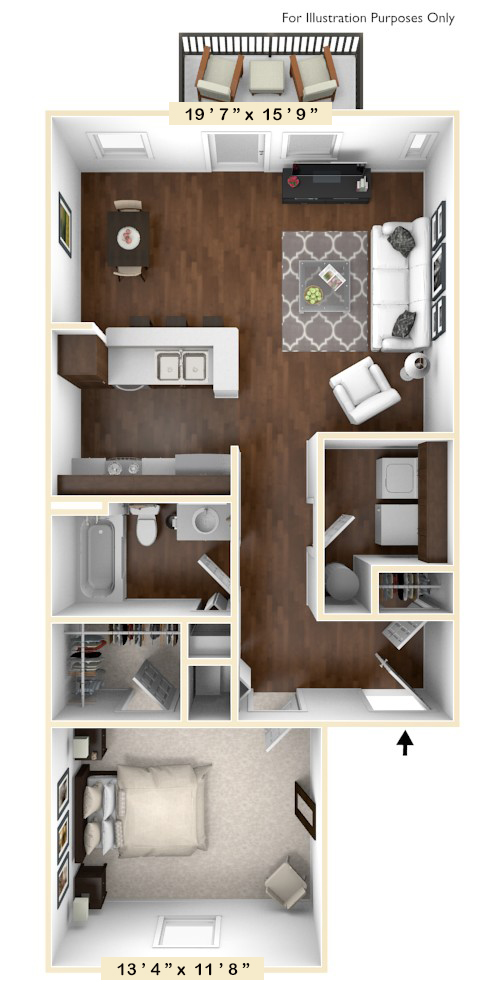 The Summit - 1 BR 1 BA
