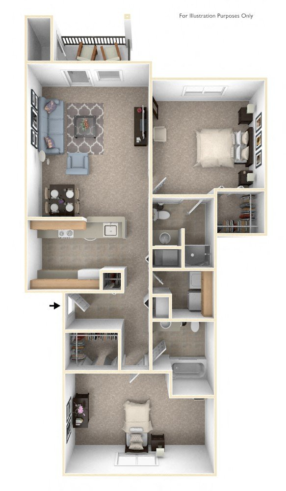 Black Sand Apartment Homes In Lincoln NE Edward Rose Beauteous Apartments Floor Plans Design Style